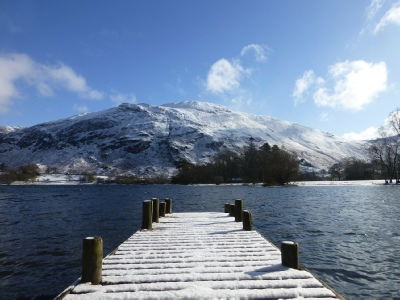 Ullswater and Place Fell Photo © www.helvellyn.com
